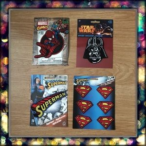 [Star Wars-Marvel-DC Comics] Patches💥🕸